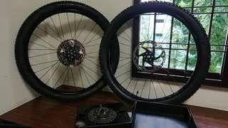 Wheelset 27.5(non-boost) to boost