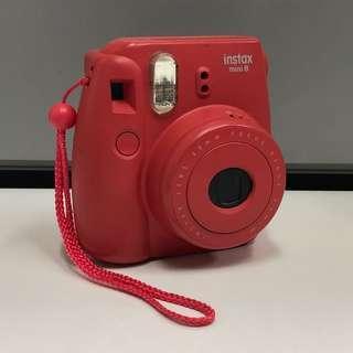 Fujifilm Instax Mini 8 (Red)
