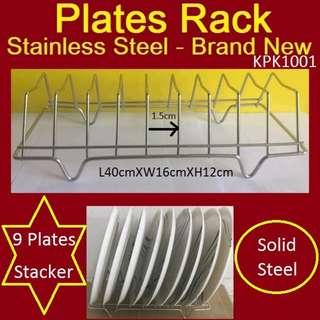 Chopping Board & Plates Rack - Brand New - Stainless Steel