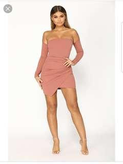 Feelin My Vibe FASHION NOVA DRESS