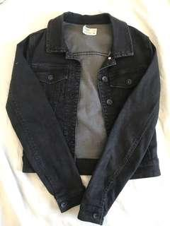 Silent Theory Black Denim Jacket