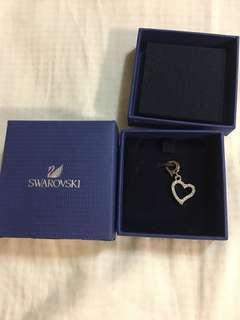 🚚 Swarovski愛心💗雙面墜飾
