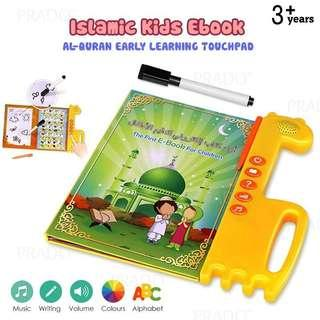 Islamic Kids Ebook Touchpad Arabic English Al-Quran Learning E-B