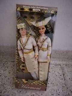 MALAY Bride & Bridrgroom Doll