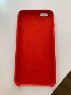 Iphone 6s+ Silicone Case - Product Red