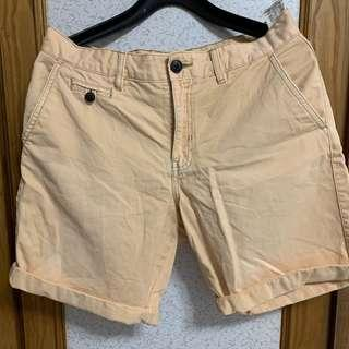 🚚 美式風格休閒  卡其色 多功能口袋工作褲 短褲