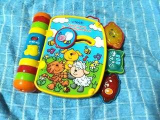 Vtech Sing along toy book
