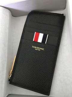聖誕 禮物 Thom Browne Half Zip wallet card holder key