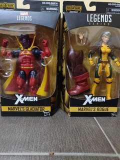 Marvel Legends - Rogue and Gladiator
