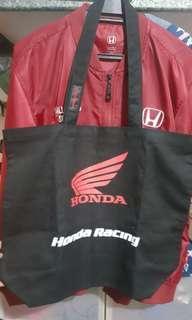 Honda Racing tote bag