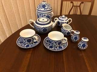 China Tea Set from Hong Kong
