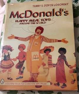 McDonald's 麥當勞玩具圖集書 260 彩頁 Happy meal toys book for collectors