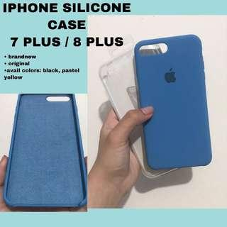 IPHONE SILICONE CASE (Blue)