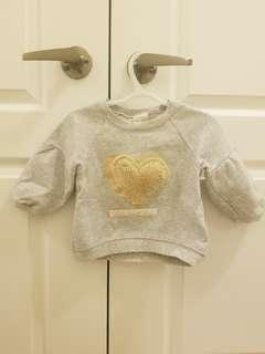 Zara 18-24 months 'Home Sweet Home' Sweater
