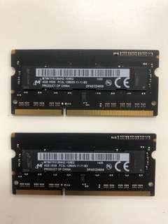 8GB Ram DDR3 1600mhz