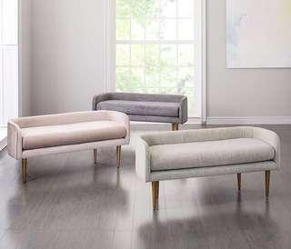 🚚 60x45cm Sofa Bench Dining Bench Bedroom Sofa