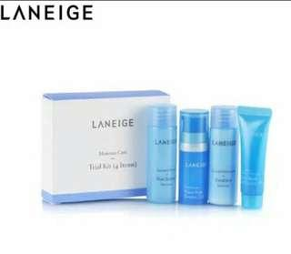 LANEIGE moisture care trial kit 4items