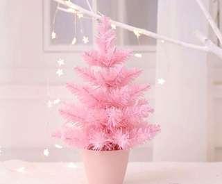 限量 訂造🎄2018 新款粉紅甜美 櫻花粉 聖誕樹 餐廳酒店家具 擺設 裝飾 禮物 PREORDER - Christmas Tree Pink Decoration 30 cm  ( 一棵)