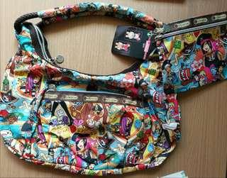 LeSportSac Tokidoki Shoulder bag with Pouch