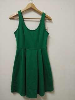 KitsChen Green Dress