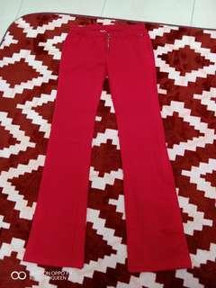 women tommy hilfieger red jeans