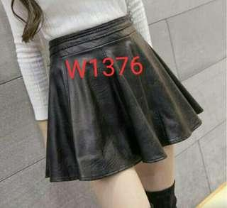 Leather Skirt W1376