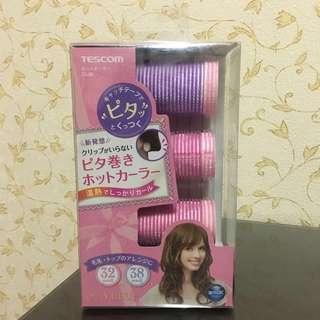 🚚 (全新)日本 Tescom CL30電熱髮捲組