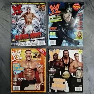 WWE WWF Magazine