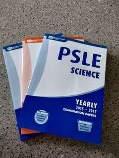PSLE 3 year series