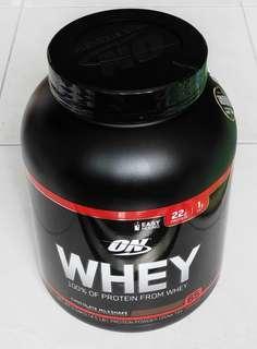 Brand New Sealed Optimum Nutrition 4.5Ibs 100% Whey Protein Chocolate Milkshake