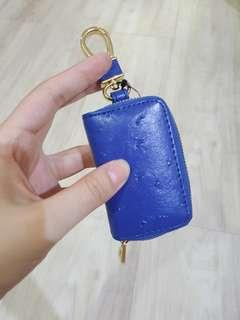 Edwin car keys blue
