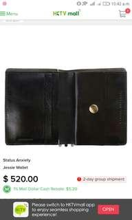 Status Anxiety Jessie Wallet Full Leather
