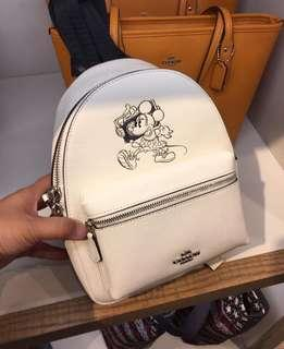 Coach Mickey Mouse backpack 搬鋪清貨只限一天順丰到付