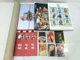 🔥urgent clearance twice yes or yes unsealed album photocards poster instock