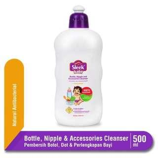 Sleek Bottle, Nipple, and Baby Accessories Cleanser 500ml