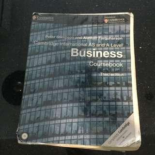 A-levels business text book