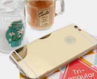 iPhone XS mirror jelly case