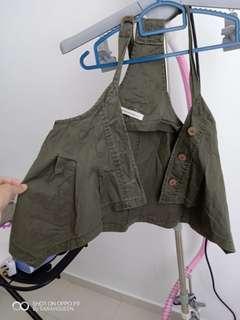 fashion vest outerwear khakis