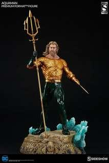 Sideshow Aquaman Exclusive with Custom Head