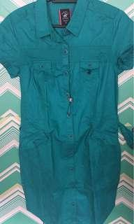 Polo Club bluegreen dress