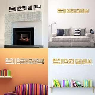 Acrylic Wall decoration sticker