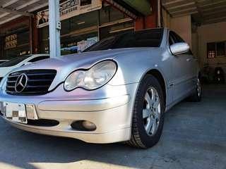 2001年BENZ-C200 歡迎現場賞車 實車實價