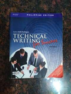 Technical Writing for Success