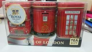 london 郵筒/電話亭/巴士茶葉罐擺設 TEA Tin Can