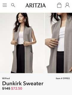 GREY - Aritzia wilfred (sold out) Dunkirk sweater