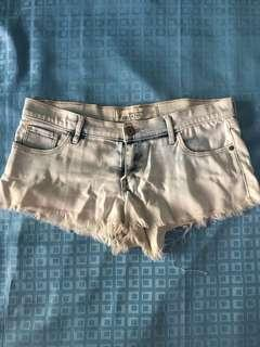 Hollister Light Wash Denim Shorts