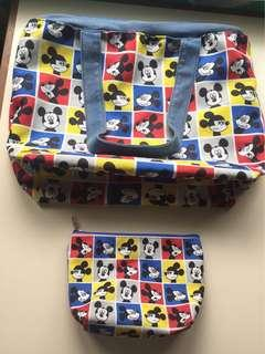MickeyMouse Bag w/ Pouch