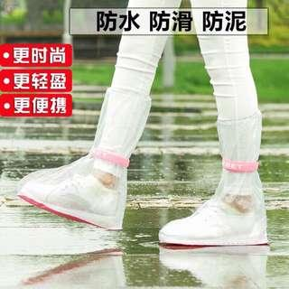 防滑雨天鞋套 2入 男女各一