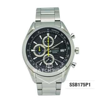 FREE DELIVERY *SEIKO GENUINE* SSB175P1 100% Authentic with 1 Year Warranty!