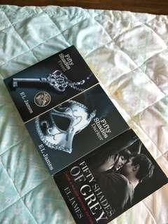 Fifty shades of Grey (complete set) for $20